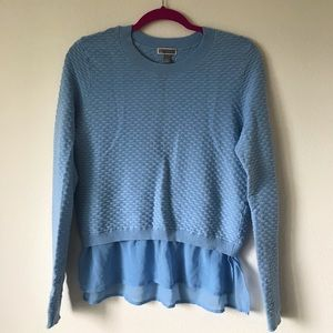 Chelsea28 Light Blue Knit Sweater